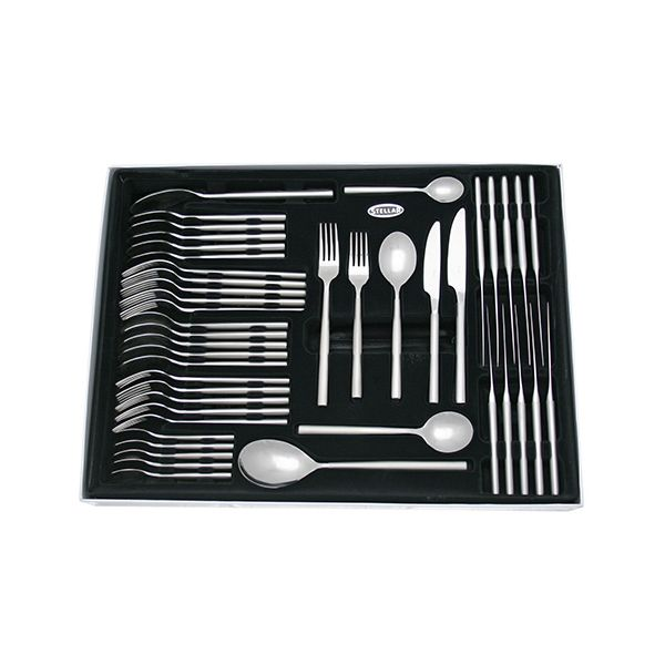 Stellar Rochester Matt 44 Piece Cutlery Gift Box Set BM58 Lifetime Guarantee