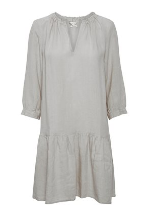 Part Two Chania Linen Dress Grey	30305175