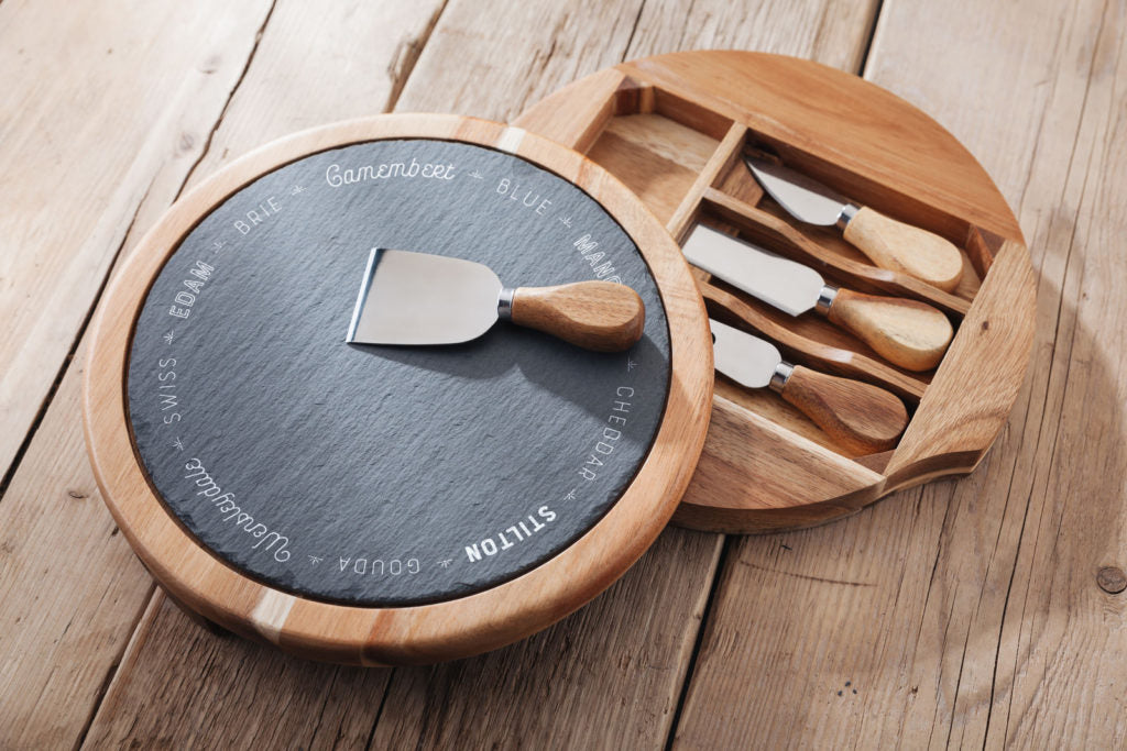 Judge Cheese Board & Knife Set