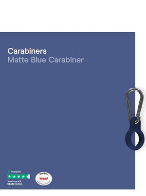 CHILLY'S Carabiner Matte Blue 260 Ml 500 Ml