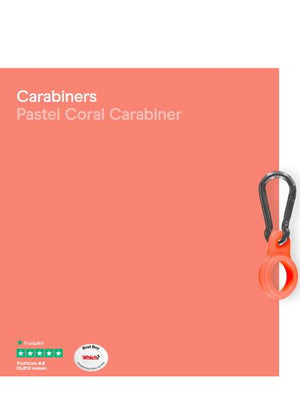Chilly's Water Bottle Carabiner Pastel Coral