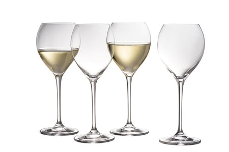 Galway Clarity White Wine Glasses Pack of 4