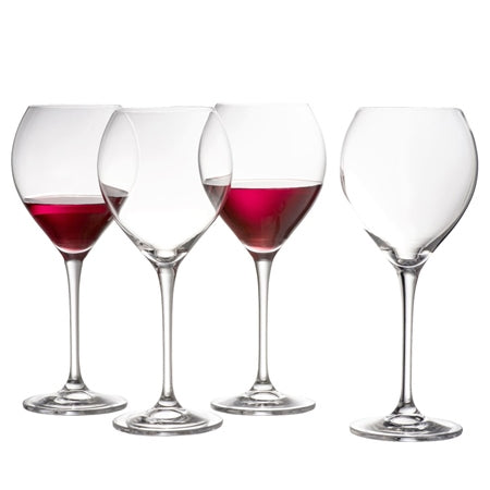 Galway Clarity Red Wine Glasses Pack of 4