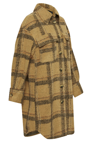 Soaked in Luxury coat/jacket in Lark check
