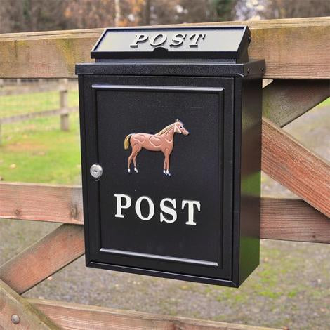 Wall Mounted Postbox (Horse)