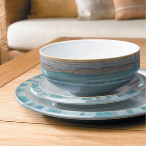 Denby Azure Coast Dinner Set 12 Piece