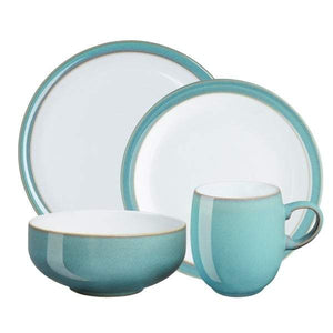 Denby Azure 16 Piece Dinner Set