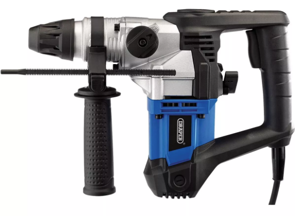 Draper 20995 PT900SDS SDS+ Rotary Hammer Drill 900W 230V with Accessories