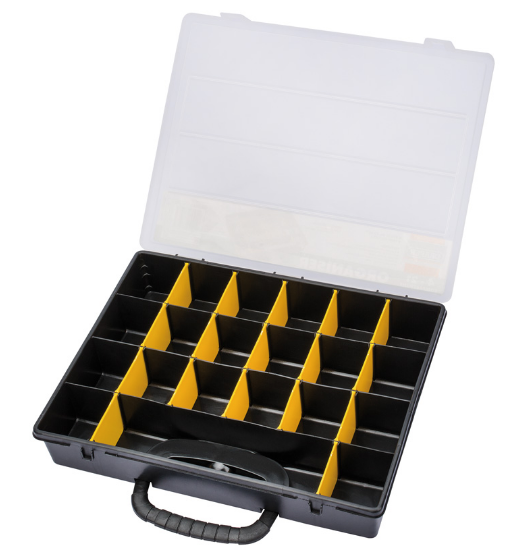 Draper 4 to 21 compartment plastic organiser