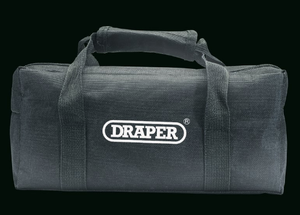 Draper 56 piece screwdriver/bit and key set in canvas bag