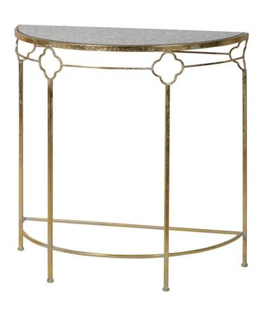 Half moon demi-lune hall table