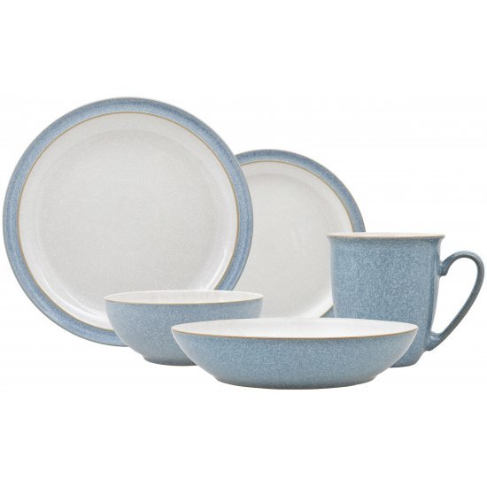 Denby Elements Blue Cereal Bowl