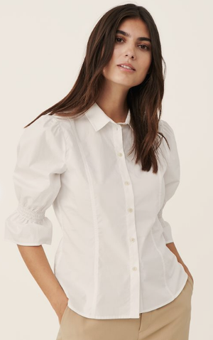 Part Two Harleen Shirt In Bright White 30305897