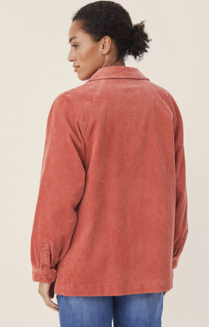 Part Two Haura OTW Jacket in faded rose overshirt