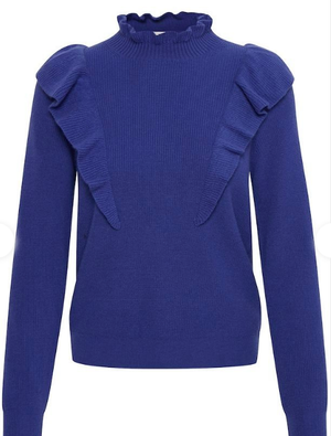 PART TWO HEYINPW KNITTED PULLOVER 30305871 in Ultramarine jumper