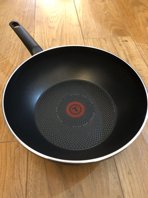 Tefal Luminens For All Hobs & Induction Non Stick Frying Pan Stirfry Wok 28cm