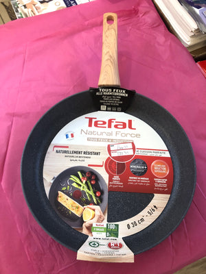 Tefal Natural Force SAFE NON STICK MINERALIA NON STICK 30cm Frypan Suitable All Hobs