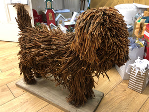 Voyage Maison Chester Dog Wooden Sculpture