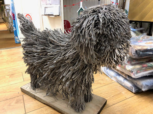 Voyage Maison Dog Wooden Sculpture Bertie