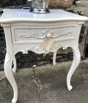 Chateau Lamp Table With Drawer