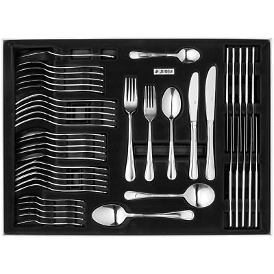 Judge Lincoln 44 Piece Polished Cutlery Boxed Set CE58 - RRP. £114 - Jacksons of Saintfield