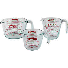 Pyrex Measuring Jug Set of 3