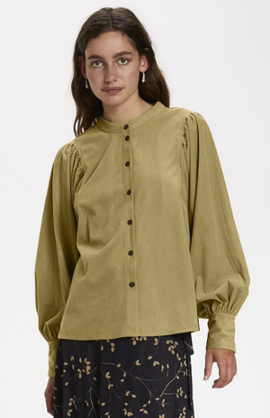 Soaked in Luxury blouse Slllia LS in Lark