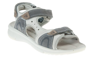 Marco Tozzi 28530-26 ladies sandals in grey combination