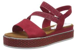MARCO TOZZI Women's 2-2-28740-26 Sandal in red