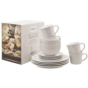 Denby Natural Canvas Dinner Set 16 Piece