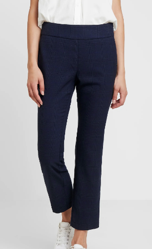 Sapphire NUMARILEE PANTS - 7519604 navy check Trousers