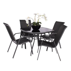 Royalcraft Rio 4 Seater Dining Set - IN STOCK NOW, COLLECTION IN-STORE ONLY