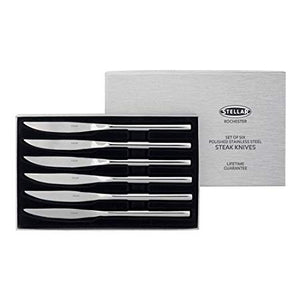 Stellar Rochester 6 Steak Knife Set