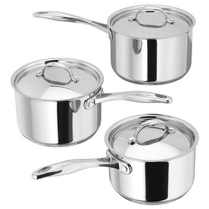 Stellar 7000 5 Piece Saucepan Set Suitable for All Hobs Lifetime Gurantee S7C1