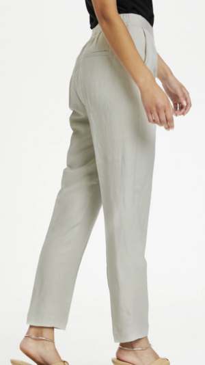 Soaked in luxury SUN NEWTON - Trousers in whisper white