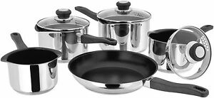 Judge Vista 5pce Saucepan Set