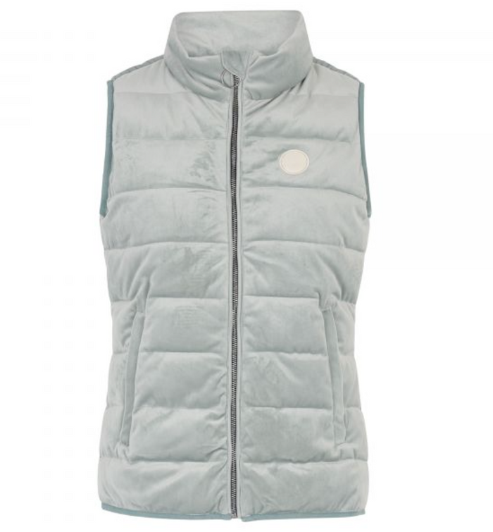 HV POLO WOMENS BLANCHE BODYWARMER- MISTY GREEN