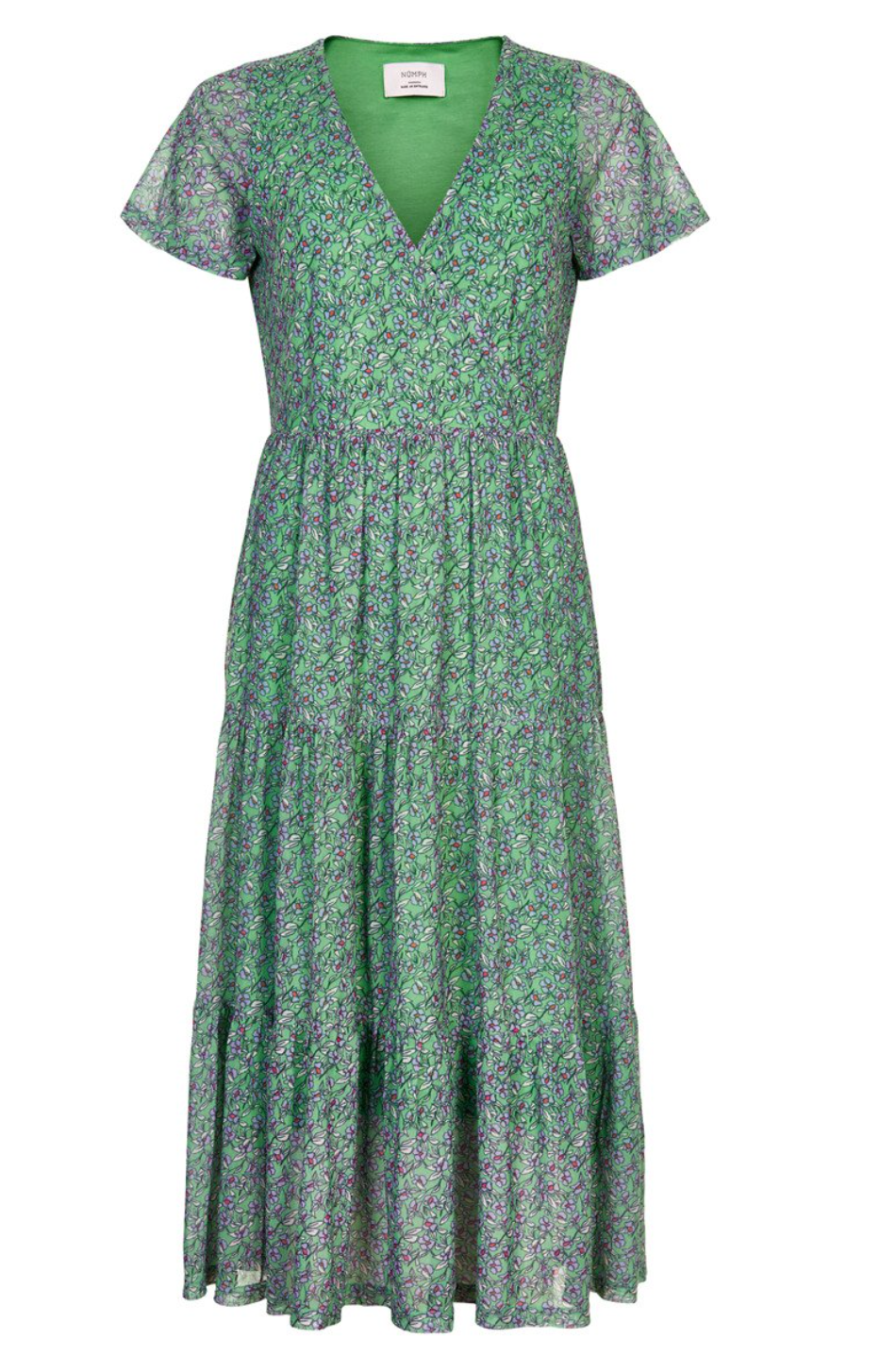 NUMPH WOMENS NUAINTZA DRESS- JADESHEEN