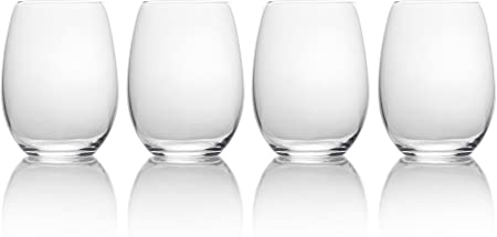 Mikasa Stemless Wine Glasses Pack of 4