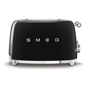 Smeg Black Toaster 4 Slice
