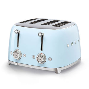 Smeg Blue Toaster 4 Slice