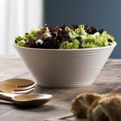 Belleek Living Ripple Salad Bowls