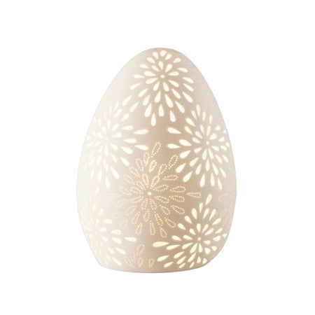 BELLEEK LIVING FLORAL SHAPE LUMINAIRE