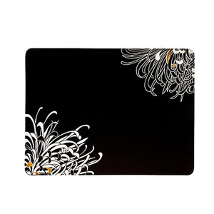 Denby Monsoon Chrysanthemum Charcoal 4 X Placemats