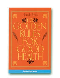 A.Vogel Ten Golden Rules - Book