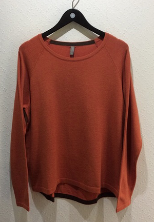Culture pullover Annemarie Mecca Orange Melange