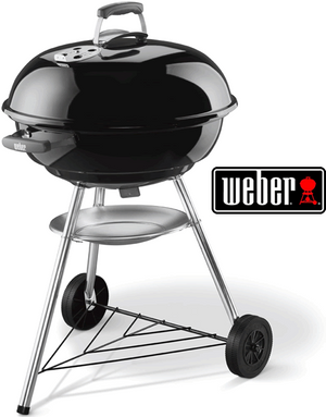 WEBER 57CM COMPACT KETTLE CHARCOAL BBQ