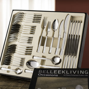 BELLEEK LIVING OCCASIONS 44-PIECE CUTLERY SET