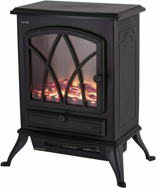 Warmlite Sterling Electric Stove Black