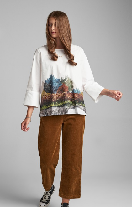 Numph blouse Nubronya in B white
